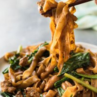 Try This--- Vegetarian Pad See Ew (Thai Stir Fried Noodles)