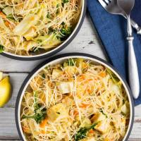 Try This---Vegetarian Pancit (Filipino Rice Noodles)