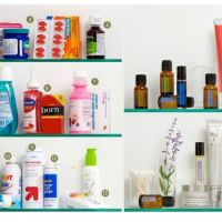 All Natural Medicine Cabinet Essentials