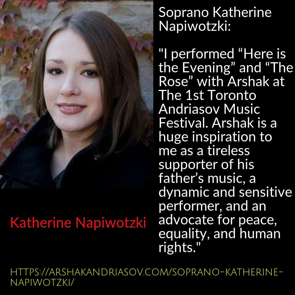Soprano Katherine Napiwotzki Guest Article