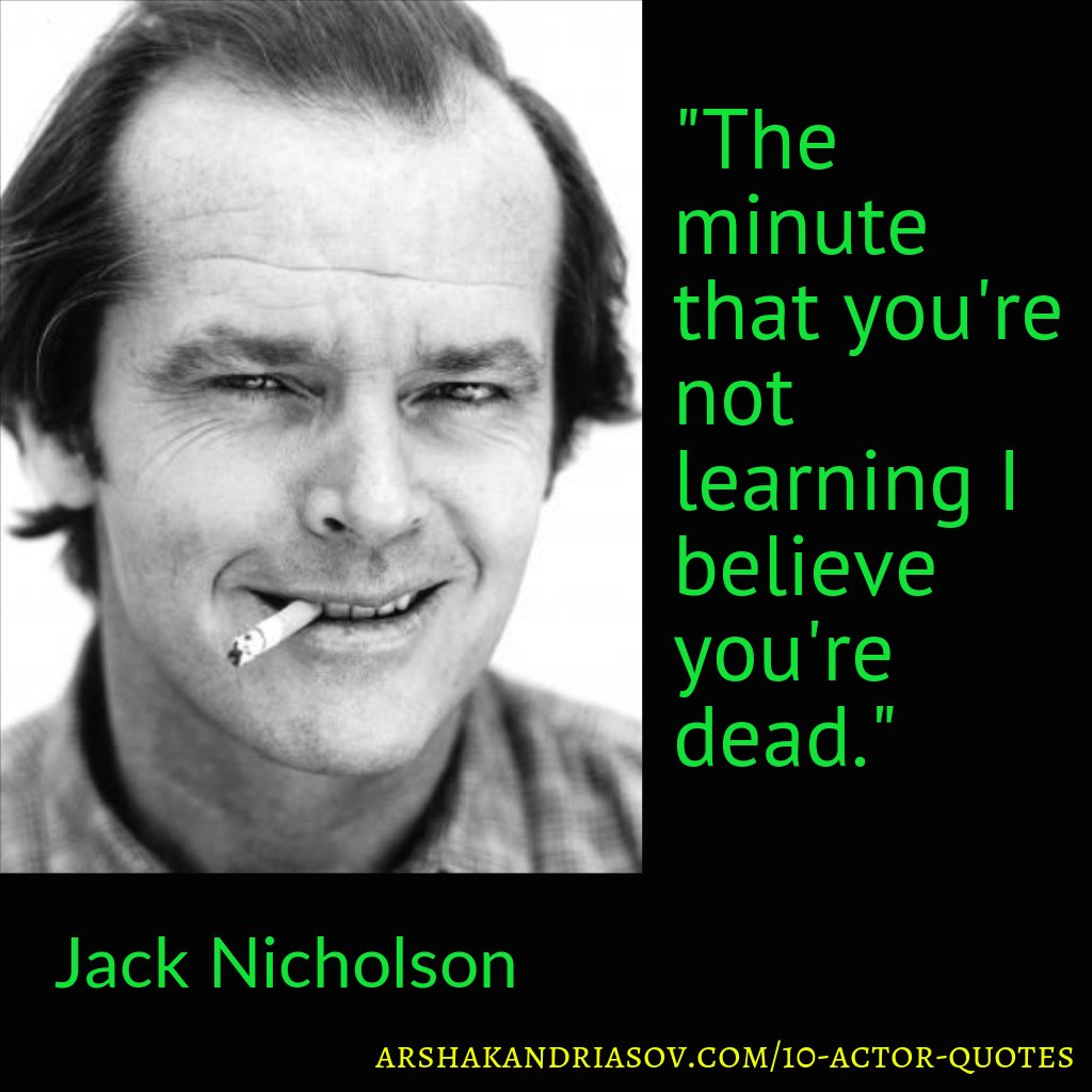 10 Actor Quotes