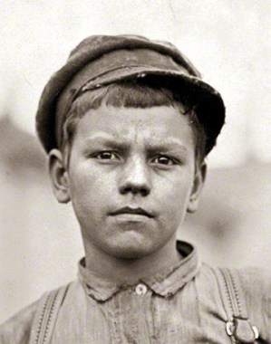 This handsome young lad could easily have been my grandfather (same era and part of the country). How unimaginable our world would be to this little fellow.
