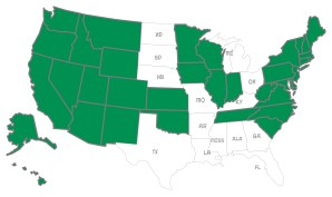 According to the New Yorker, marriage equality is soon to be law in thirty of the fifty states---including, incredibly enough, much of the South.