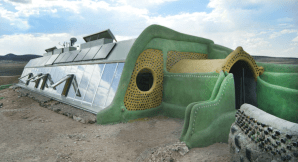 Earthships are houses designed to be sustainable. You can construct one in three months.