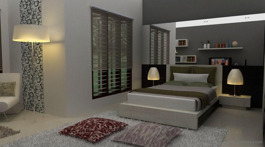 Desain Kamar Tidur Minimalis Dewasa