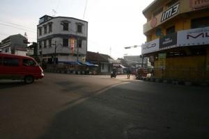 JALAN MUHAMAD ALI. Dulu dijadikan tempat latihan Lasykar Banteng Cianjur (foto:hendijo)