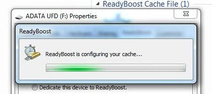 Konfigurasi ReadyBoost image