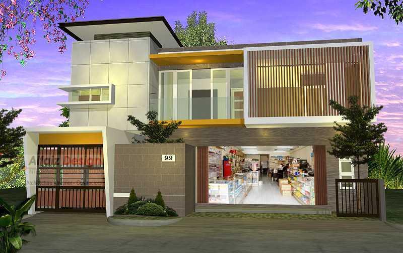 5 Desain Rumah Toko Modern Untuk Memulai Bisnis Anda Arsitag