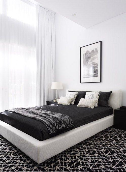 8 Inspirasi Desain Interior Kamar Tidur Bagi Penyuka Warna Hitam