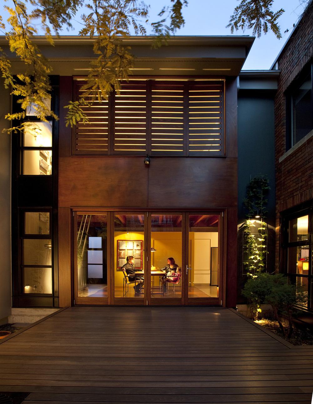 Desain Rumah Bentuk U