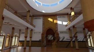interior masjid tlogomas 2