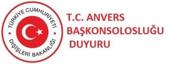 Anvers Başkonsolosluğu 15 Temmuz darbe girişimi hakkında bilgi verdi