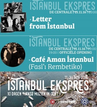 İstanbul Ekspres Gent'te Türk-Yunan dostluğu rüzgarı estirecek