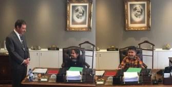 Küçük Büyükelçiler Süeda ve Nurulah'ın mesajı:  Öğretmenlik kutsal bir meslektir