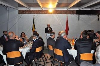 Belçika Müslüman ve Hristiyan Toplumu'nun farklı kesimleri BDV iftarında buluştu