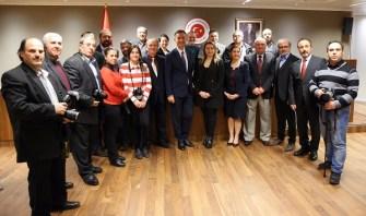 Yeni Brüksel Büyükelçisi Levent Gümrükçü, Belçika Türkçe basın mensupları ile bir araya geldi