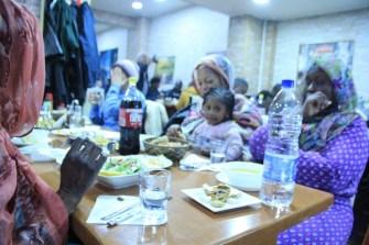 Saadet Partisi Belçika Temsilciliği'nden mültecilere iftar