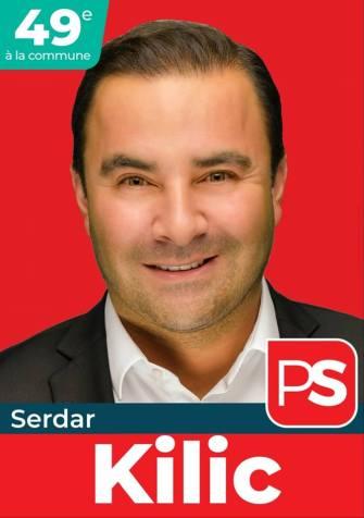 Charleroi PS listesini 49. sıra adayı Milletvekili Serdar Kılıç: Temel ilkem, söz vermek yerine hizmet sunmak !