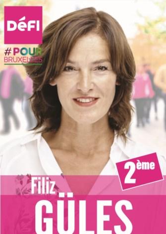 Merkez Brüksel Belediyesi  DéFI  2. Sıra adayı Filiz Güles: 12 yıldır Brüksel'in 2. Büyük belediyesinde kazandığım deneyimleri 1. Büyük belediyesinde değerlendirmek istiyorum