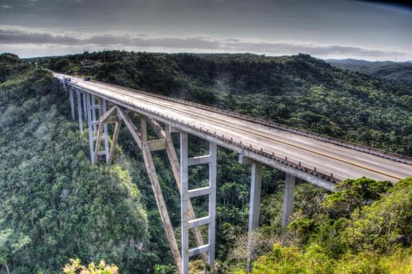 Matanzas bridge, Vía Blanca