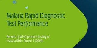 Malaria Rapid Diagnostic Test Performance PDF