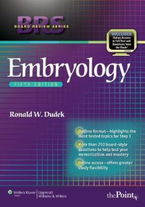 BRS Embryology 5th Edition