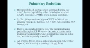 DVT/Pulmonary Embolism