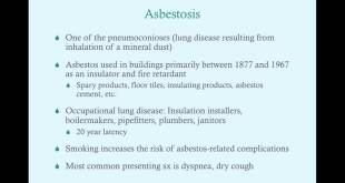Environmental/Occupational Lung Disease, Part II