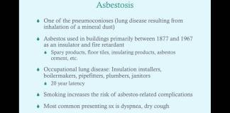 Environmental/Occupational Lung Disease, Part II