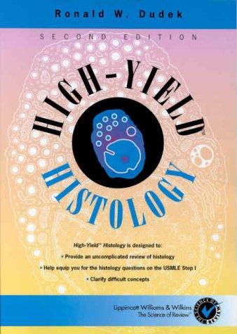 high yield histology 2nd edition pdf