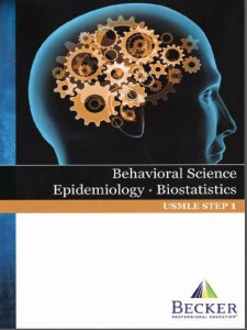 BECKER USMLE Step 1 Behavioral Science Epidemiology Biostatistics PDF