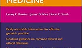 Oxford Handbook of Geriatric Medicine 2nd Edition PDF