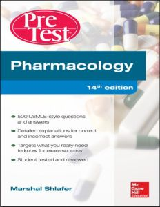 Pharmacology PreTest Self-Assessment and Review 14th Edition PDF