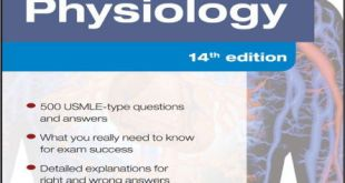 Physiology PreTest Self-Assessment and Review 14th Edition PDF