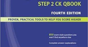 USMLE Step 2 CK Qbook 4th Edition