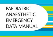 Paediatric Anaesthetic Emergency Data Manual PDF