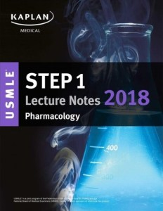 USMLE Step 1 Lecture Notes Pharmacology 2018 PDF