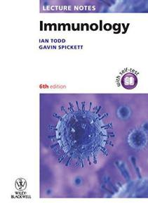 Immunology Lecture Notes 6th Edition PDF