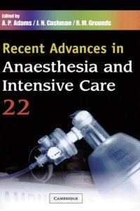 Recent Advances in Anaesthesia and Intensive Care 22 PDF