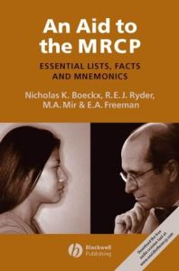 An Aid to the MRCP PDF - Essential Lists Facts and Mnemonics