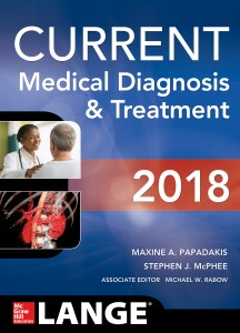 CURRENT Medical Diagnosis and Treatment 2018 57th Edition PDF