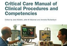 Critical Care Manual of Clinical Procedures and Competencies PDF