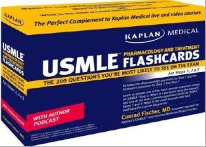 Kaplan Medical USMLE Pharmacology and Treatment Flashcards 1st Edition PDF