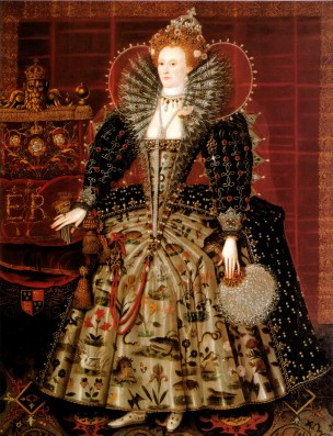"Hardwick, ""Portrait of Queen Elizabeth I"", 1595"