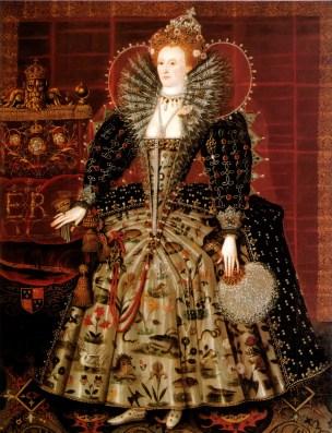 """Hardwick, """"Portrait of Queen Elizabeth I"""", 1595"""