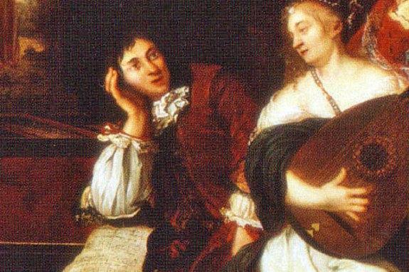 Supuesta imagen de Buxtehude por Johannes Voorhout