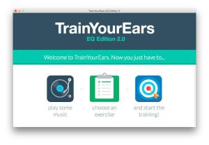 "Application ""Train your ears"""