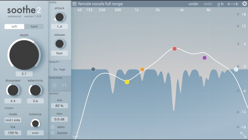 plug-in audio Soothe2