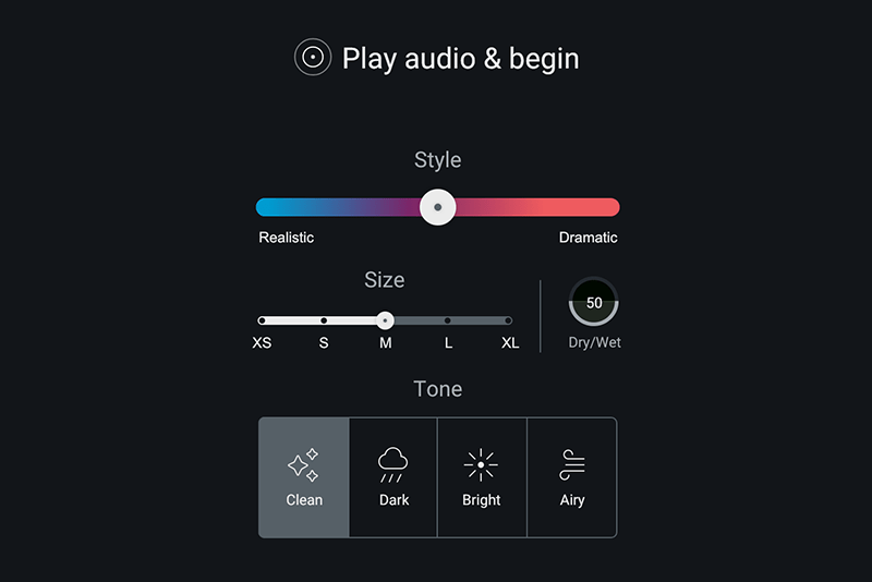 plug-in IA Neoverb Reverb assistant