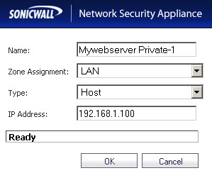 Configure One to One NAT in SonicWALL - Computer How To